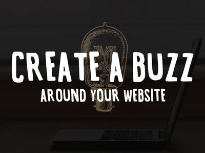 Buzz Buzz typography vintage marketing