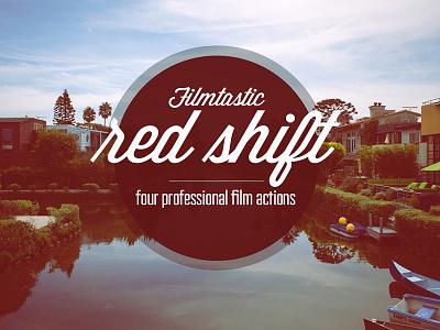 Redshift photoshop action film