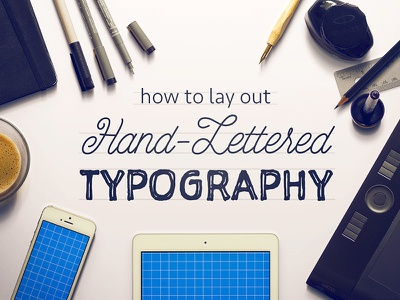 Laying Out Type Tutorial handlettering typography lettering