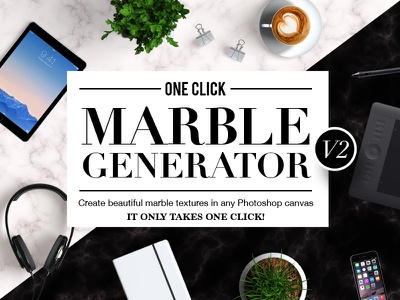 OneClick Marble Texture Generator V2 background fancy photoshop action pattern texture marble
