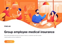 Group Employee Medical Insurance