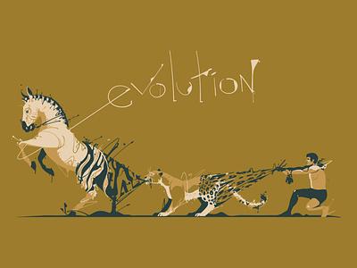 Evolution humanity ecology mood design illustration art drawings evolution human leopard zebra poster digitalillustration artwork adobeillustrator digitalart animal vector drawing illustration illustrator