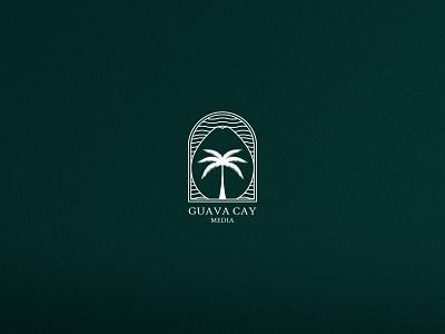 GUAVA CAY typography branding and identity branding design branding print vector logo art direction illustration graphic art