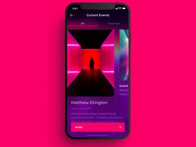 Event concept design