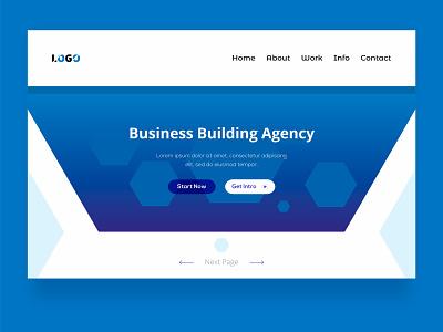 Home page design ui  ux design psd template homepage design landing page uidesign website builder website homepage