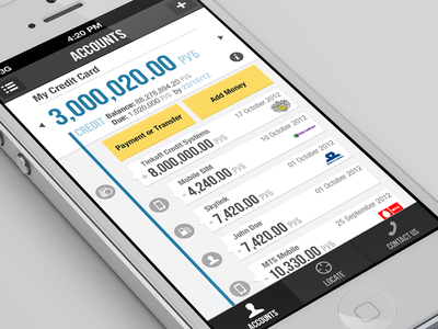 Banking app - TCS