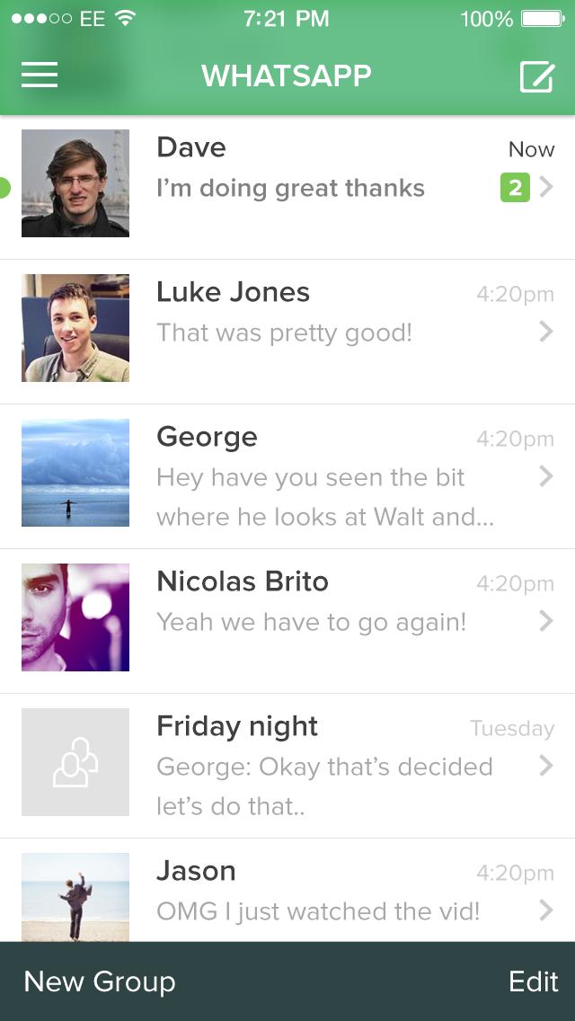 Dribbble - whatsapp-ios7.png by Saffad Khan