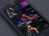 Concerts App (Rapid Prototype)