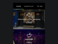 Popular Places app