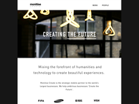 Monitise Create Website