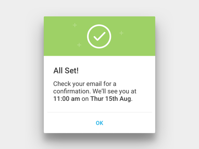 Material Design Dialogs for Hailo android dialogs up pop dialog design material hailo