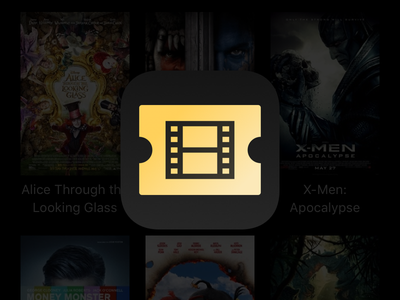 Cinemap cinema icon ios app icon