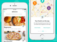 New Look: Deliveroo for iOS