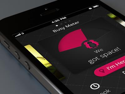 Concept app for restaurant/bar