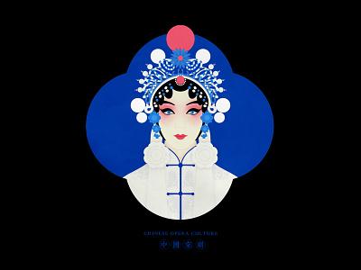 JIANG JIANG CAI-131 china 中国 中国戏曲面孔 chinese peking opera chinese opera faces chinese culture theatrical mask traditional opera illustration