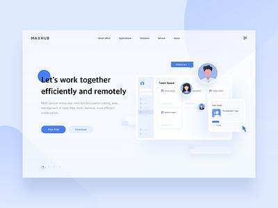 Team work remotework webdesign remote product illustration teamwork team