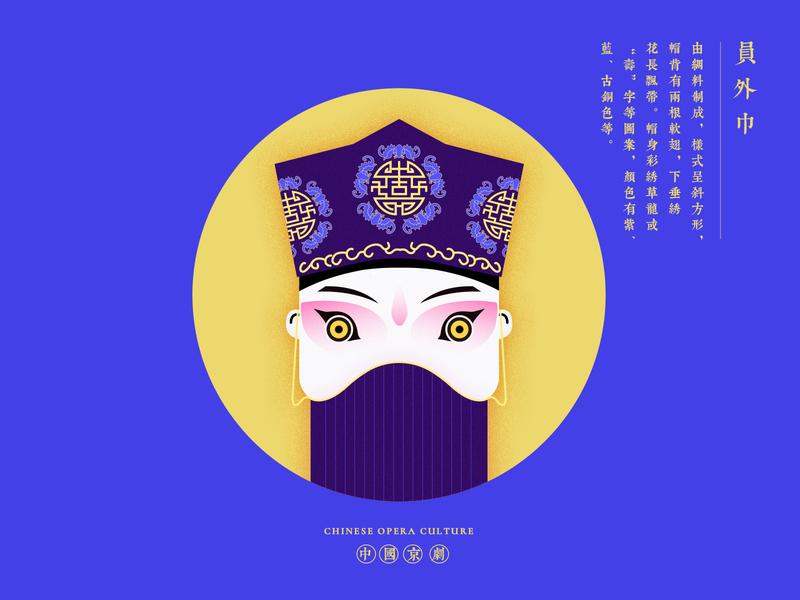 JIANG JIANG CAI-109 china chinese culture chinese opera faces traditional opera theatrical mask illustration
