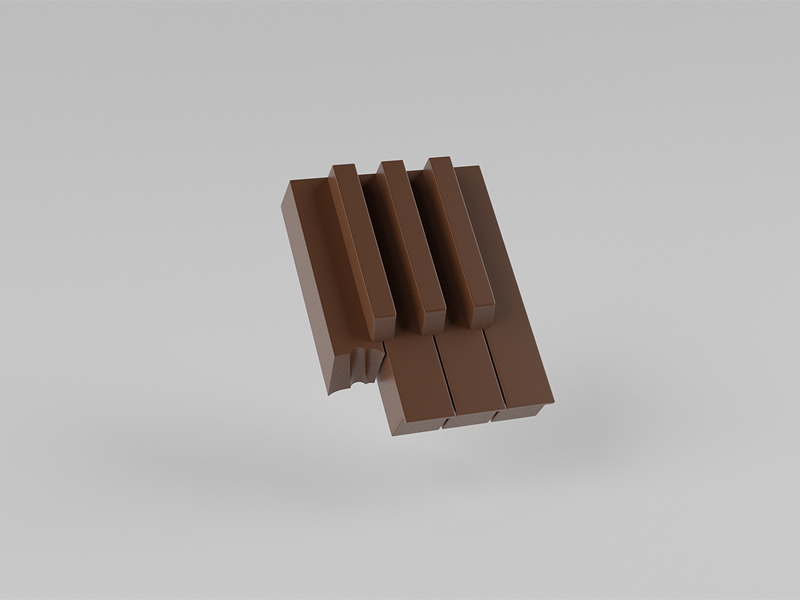 Piano choclate