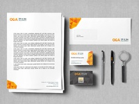 OGA - Logo and branding design