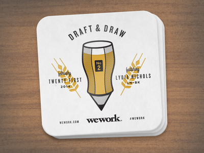 Draft & Draw Coaster