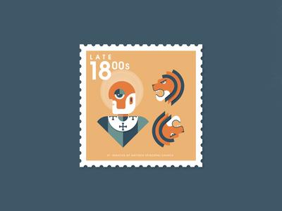 St. Ignatius of Antioch Stamp