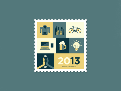 WeWork Bryant Park Stamp