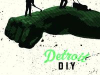 Detroit DIY Poster - Detail