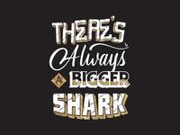Bigger Shark Lettering