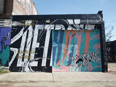 Detroit Mural