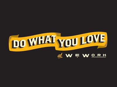 Do What You Love Banner
