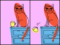 Cat & Cup