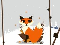 Foxy in winter