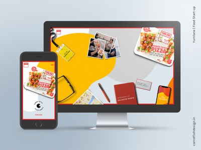 Yumlane: Digital Experience xd design xd ui ux ui design visual design website design web design webdesign website web uidesign ui  ux uiux