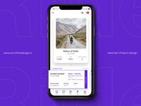 Product Design: Motor Bike Riding App