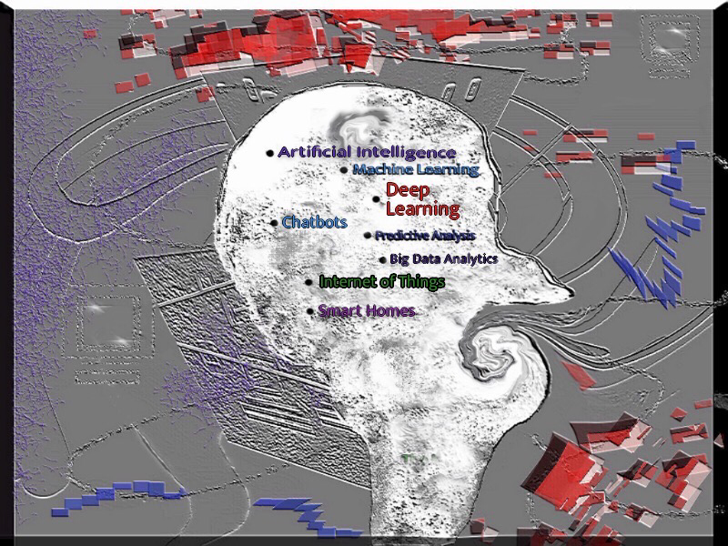 Artificial Intelligence in a Nutshell data analytics big data analytics big data data flow scifi abstract abstract art do deep lewrning mi machine learning artificial intelligence ai