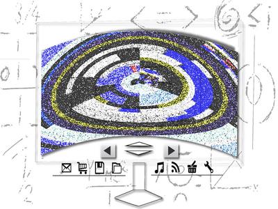Quantum Computer Concept quantum computing quantum mechanics quantummechanics quantumcomputing quantumcomputer illustration graphicdesign abstract