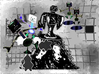 Robots Gone Berzerk (nee take) droids bots drones gadgets robotics robots