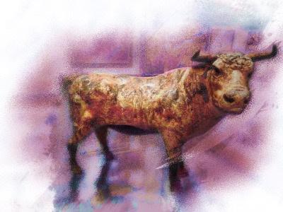 Magical Bull redefined abstract abstractart conceptart ani alart animalform animal byk bullrun bull