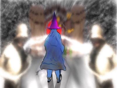 The Vector Wizard vectorart vector rpg gameart gaming roleplayinggame fantasyart fantasy wizard magic