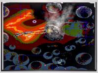 Space Battle in Pixels