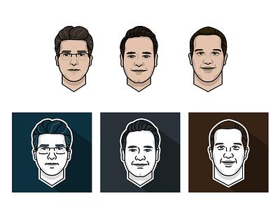 New Avatars character avatar vector illustration