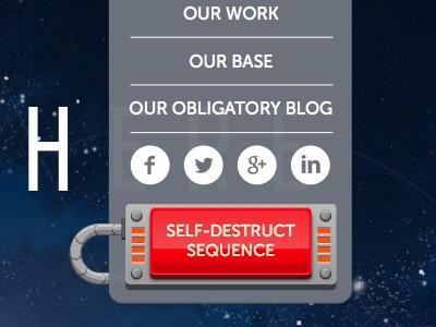 Do not click the button vector dropdown design web