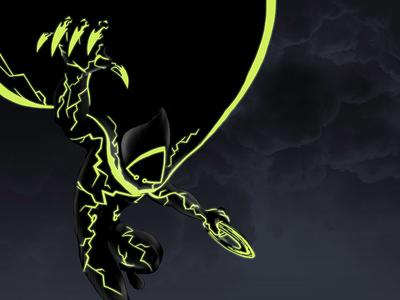 Tron Virus virus dark illustration tron