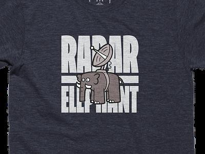 Radar Elephant Tee tshirt elephant radar