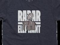 Radar Elephant Tee