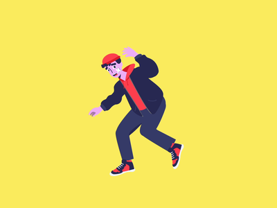 The Clueless One ❓ motion design character animation graphic  design vector character design character lottie motion web illustrator animation branding ui illustration design