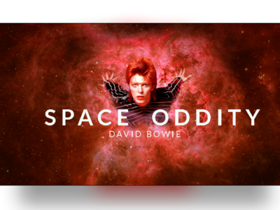 David Bowie Space Oddity 50th Anniversary