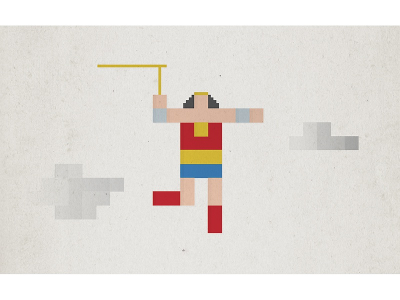 Wonder Woman icon simple minimal illustration comic dc wonder woman superhero pixel