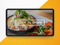 Kiosk Food Ordering Animation