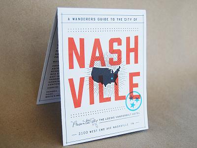 Wanderers Guide to Nashville guide stars us tn nashville map